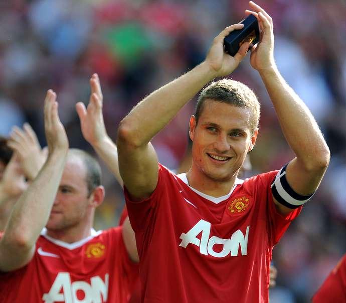 Manchester United's Serbian player Neman